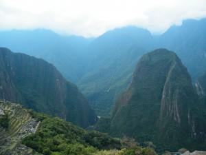 Machu Picchu high