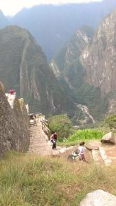 Machu Picchu climbing