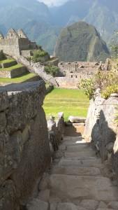 Machu Picchu staircase