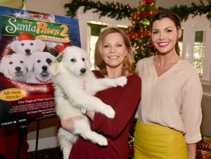 "Disney, Cheryl Ladd, And Ali Landry Host ""Santa Paws 2: The Santa Pups"" Holiday Party"